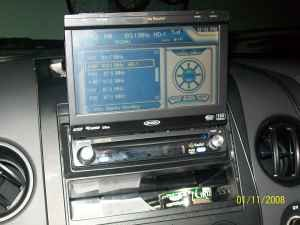 Single Din and Flip Out - In-Dash DVD Video
