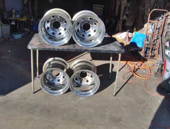 Set Of 4 Chrome 15x14 Steel Wheels Good Condition 350 Or Best Offer 100129790 Custom 15 Wheel Classifieds 15 Wheel Sales
