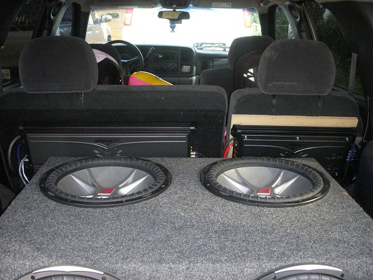 4 15 subs and zx2500 1 amp and rims $2,500 Firm - 100175604
