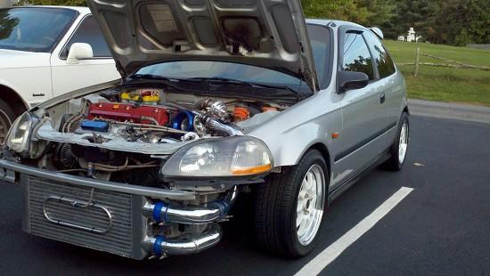 Honda Civic K20 Turbo 1997 Honda Civic K20 Turbo