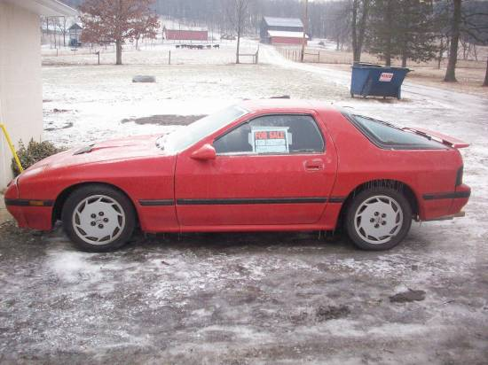1987 Mazda Rx7 Turbo 2 2 000 100145765 Custom Import