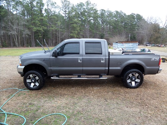2002 Ford f250 lifted 20s/35s 7.3 diesel $18,000 ...