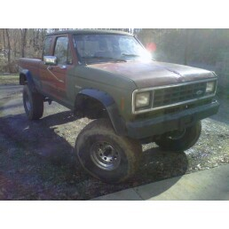 1987 Ford Ranger Lifted On 35s 1 000 Possible Trade