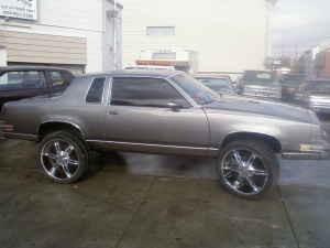 1985 Oldsmobile Cutlass 1 Possible Trade 100229697 Custom Donk