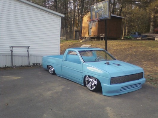 1986 nissan hardbody bagged bodied chopped 7 500 possible
