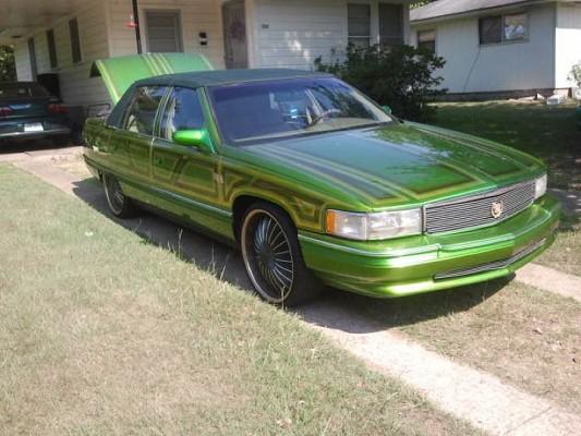 1995 Cadillac DeVille Lowrider