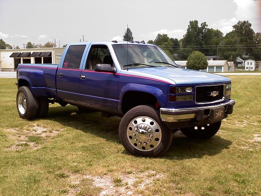 Images of 96 3500 Chevy Dually Lifted
