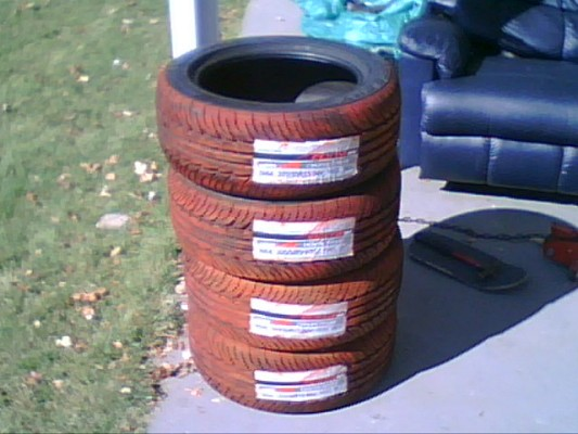 Red Color Smoke Tires 550 Or Best Offer 100168150 Custom 15
