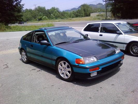1991 Honda Crx Si  5 500 Possible Trade