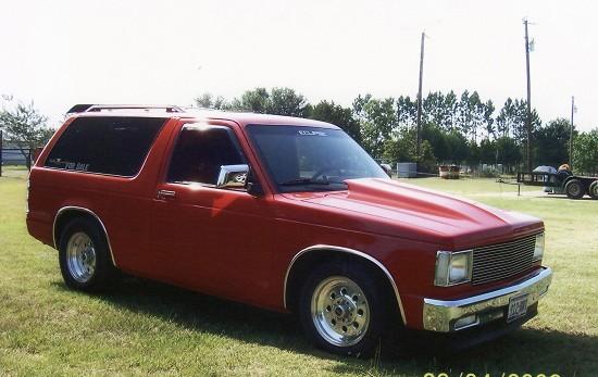 1986 Chevrolet S10 Blazer 7000 100171964 Custom Show Truck