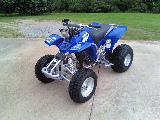 2002 Yamaha Blaster  1 450 Possible Trade