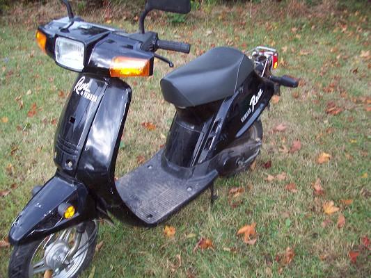 1988 yamaha razz 400 100219749 custom scooter for Yamaha razz scooter parts