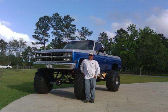 1984 Chevrolet Scottsdale 12 000 100329922 Custom Lifted Truck