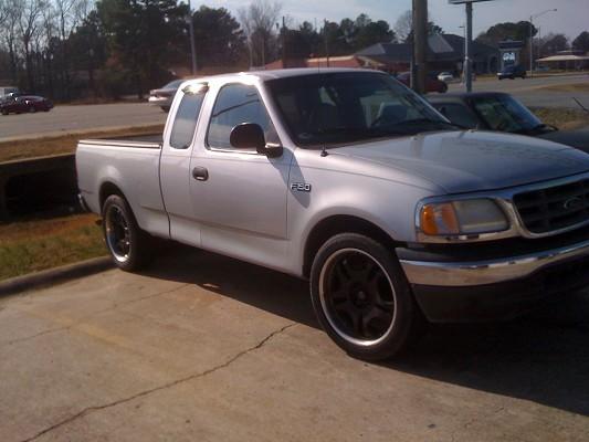2000 ford f150 5 500 100239565 custom full size truck. Black Bedroom Furniture Sets. Home Design Ideas