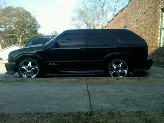 2001 Chevrolet Extreme Blazer 9 000 Possible Trade