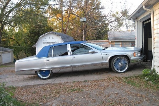 1995 cadillac fleetwood 5 500 possible trade 100327214 custom donk classifieds donk sales mautofied com