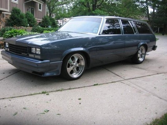 1983 Chevrolet malibu wagon $1 Possible trade - 100216981   Custom