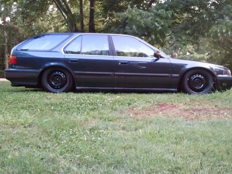 1993 accord wagon slammed