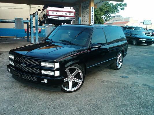 1998 Chevrolet Tahoe 8 000 100310518 Custom Show