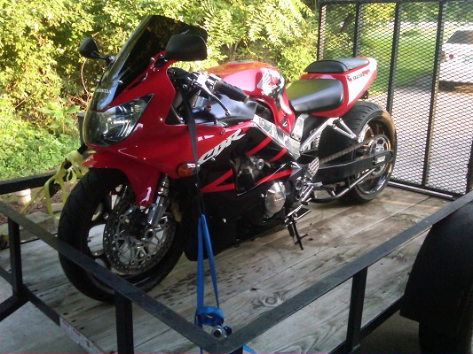 2001 Honda CBR 929 stretched with 240 $1 Possible trade ...