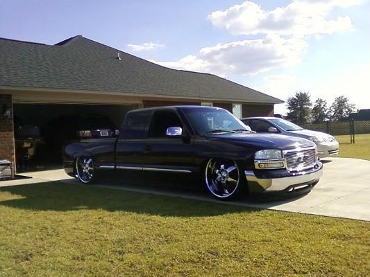 Ford Dealership San Diego >> Bagged gmc sierra stepside