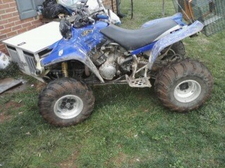 2003 yamaha warrior 1 300 firm 100470729 custom other atv classifieds other atv sales. Black Bedroom Furniture Sets. Home Design Ideas