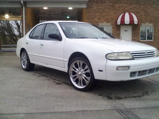 1996 Nissan altima $1 Possible Trade - 100270228 | Custom Stock ...