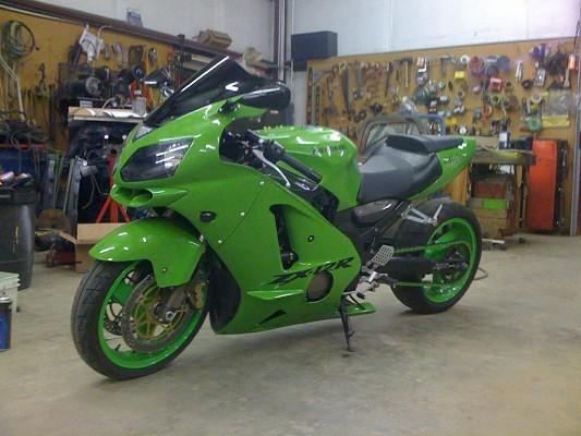 Kawasaki Zx Extended Swingarm