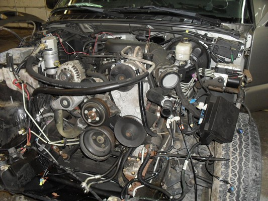 4 3 Vortec Motor And Transmission 4x4  1 300 Firm
