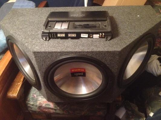 Polk audio inch subwoofer