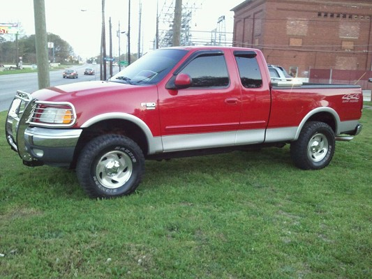 2000 ford f150 7 500 firm 100477692 custom lifted. Black Bedroom Furniture Sets. Home Design Ideas