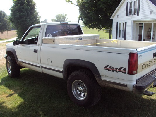 1998 Chevrolet 2500 4x4 $4,200 - 100402344 | Custom Full ...