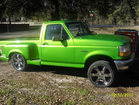 1992 ford f150 flarefide 1 possible trade 100262869 custom full size truck classifieds. Black Bedroom Furniture Sets. Home Design Ideas
