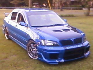 2002 mitsubishi lancer oz rally $1 - 100415214   custom show car