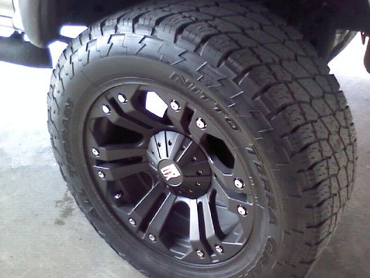 20 Monster Xd Wheels With 35 Inch Nitto Tires 0 Possible