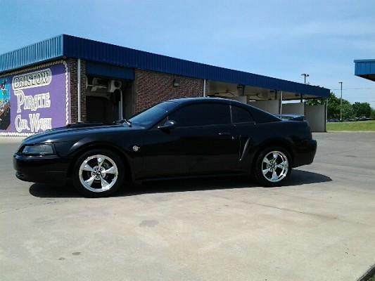 Black On Black Anniversary Mustang Gt