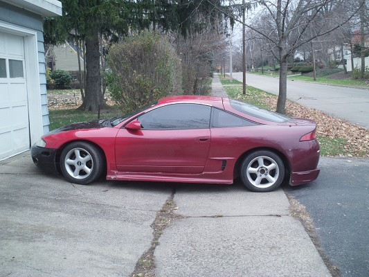 1995 mitsubishi eclipse rs turbo 2 500 possible trade. Black Bedroom Furniture Sets. Home Design Ideas