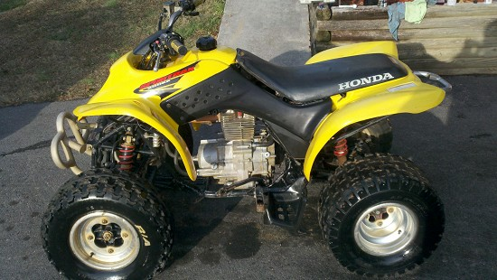 Listing Description, Back To Top. Here Is My 2002 Honda Sport Trax 250 This Four  Wheeler ...