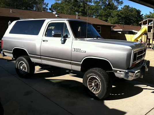 1989 Dodge Ramcharger 4 500 100472280 Custom Lifted Truck Classifieds Lifted Truck Sales