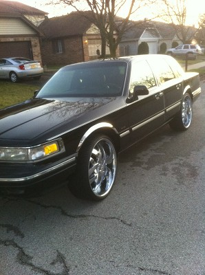 1995 Lincoln Towncar 4 000 Firm 100454873 Custom Donk