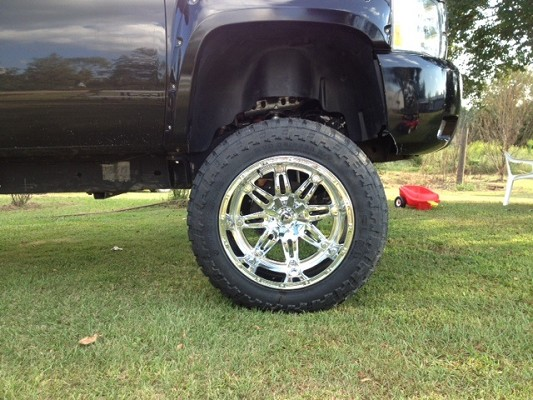 New Set Of 22x14 Fuel Hostage And 37 13 5 Mt Tires 3 200 Possible