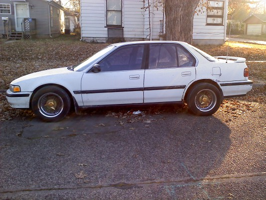 1990 Honda Accord 3000 Possible Trade 100346025 Custom Low