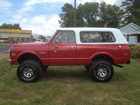 1972 Chevrolet K5 Blazer 16 500 Possible Trade