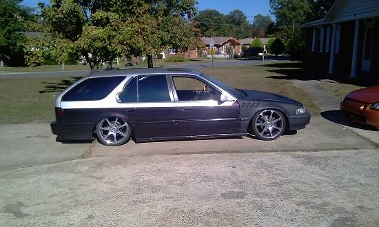 1991 Honda Accord Wagon 1100 Firm 100377311 Custom Project