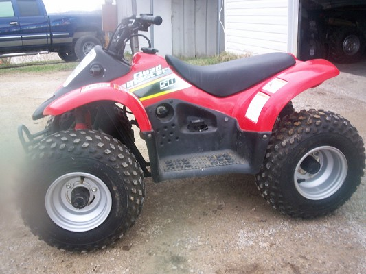 2002 Suzuki QuadMaster 50 $550 Firm - 100268932 | Custom Other ATV