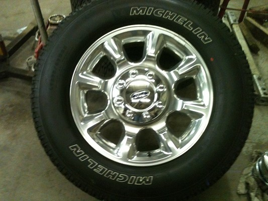 brand new take off wheels tires from 2011 f 350 1 500 firm 100366434 custom 20 wheel. Black Bedroom Furniture Sets. Home Design Ideas