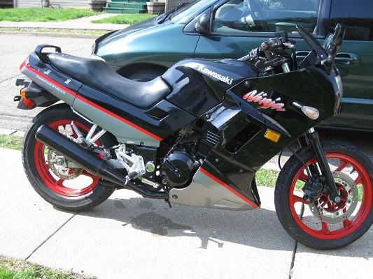 1993 Kawasaki Ex ninja 250 $500 Possible Trade - 100385372   Custom