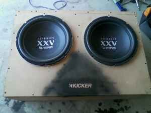 Hifonic XXV OLYMPUS 15s 4800 watts each $1 or best offer - 100312379
