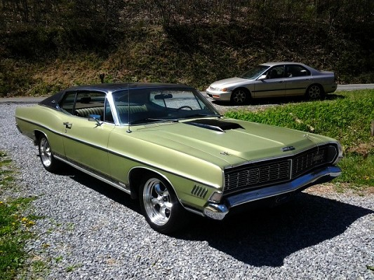 1968 Ford Galaxie XL $10,000 Possible trade - 100595541 ...