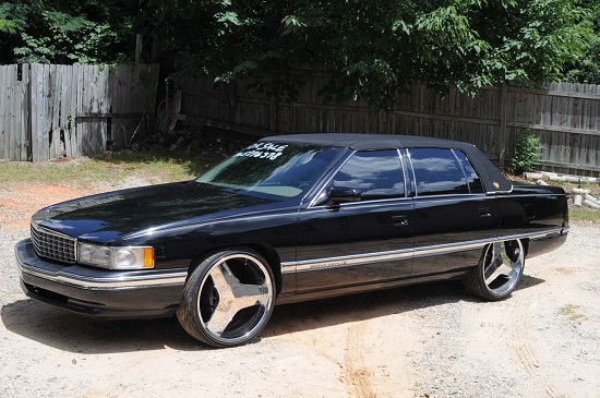 1994 Cadillac Deville 5500 100300652 Custom Donk Classifieds